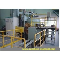VACCUM INDUCTION MELTING FURNACE. SENTERING FURNACE