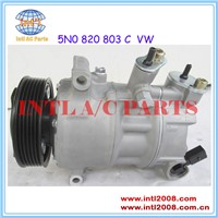5N0 820 803 5N0 820 803 C A/C Compressor for VW Golf 5 6 Touran Passat 3C Tiguan Scirocco