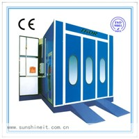 China electric heating car spray booth oven