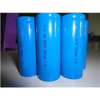 Rechargeable li-ion cylinarical battery 26650 3.7V 4000mah
