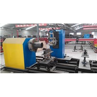 factory supply cnc steel pipe plasma and flame cutting machine