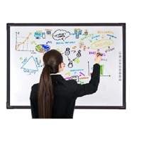 100inch optical finger touch interactive electronic whiteboard