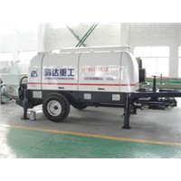 80m3/h trailer concrete pump 80m3/h electric  concrete pump