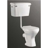 Africa Sanitary Twyford Toilet with Water Tank