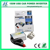 150W off Grid Car Power Converter DC AC Inverter (QW-150MUSB)