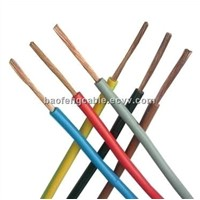 450/750V PVC Insulated Copper Electric Wire