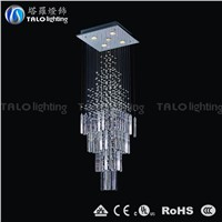 contemporary chandelier  LED pendant lighting for stair decoration