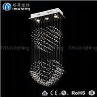 high quality double heart pendant light LED chandeliers for bedroom