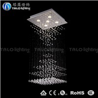 China factory wholesale indoor crystal chandelier LED pendant light