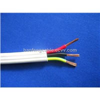 450/750V copper PVC twin and earth flat cable
