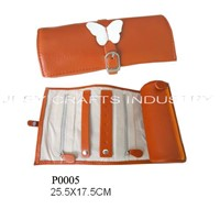 Butterfly Decoration Jewelry Roll(P0005)