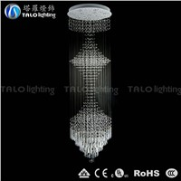 2015 luxury modern crystal chandelier LED pendant light droplight
