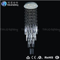 whole-sale modern glass droplight crystal chandeliers LED pendant lamp