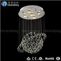 whole-sale Made in China globe shape crystal chandelier LED pendant lamp