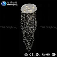 whole-sale Chinese lighting fixtures crystal chandelier LED pendant lamp