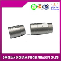 Customized nickle plating zinc alloy connector product DC-0832
