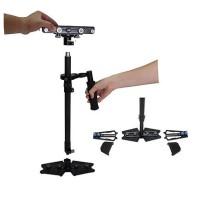 Wieldy handheld carbon fiber DSLR camera stabilizer steadicam