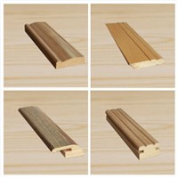 wood mouldings for wainscot, wall decoartion-skirting,closing moulding, connecting,keel
