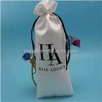Popular Hair Extension Packaging Satin Bag