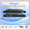 H.264 and MPEG-2 transcoder ,HD and SD transcoder ENCODER COL5081T