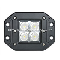 12W led work light,spot light, flood light, snow ground light,off road led lighting,4WD