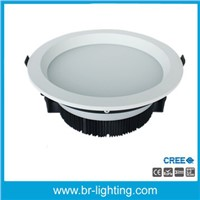 "26W LED downlight, 6"" recessed LED ceiling light with remote driver"