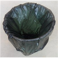 HDPE Black Trash Can Liner Bag