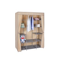 Hot Sale Home Furniture Folding Cheap Fashion Non Woven Fabric Wardrobe