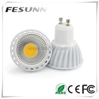 Super Brightness 6W dimmable GU10 COB led spotlight
