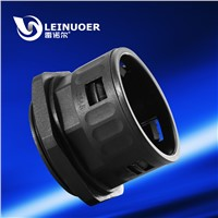 Union/joint fitting/gland /connector for plastic flexible conduit/pipe/hose/tube/tubing