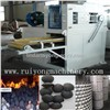 Briquette ball press machine