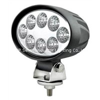 24W led work light,spot light, flood light, snow ground light,off road led lighting,4WD