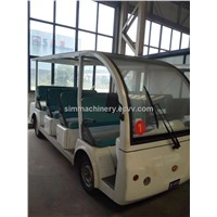 Electric Sightseeing Bus best price with high quality tour bus in shanghai