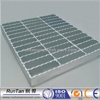 Galvanized Serrated Flooring Platform walkway steel grating