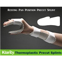 Thermoplastic Splints - Resting Pan Position Precut Splint