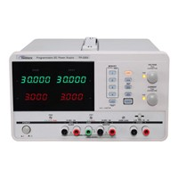 Triple Output Programmable DC Power Supply 30V/3A USB