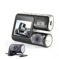 Dual Camera Car Truck Video DVR HD 720P 2.0 Inch LCD Recording