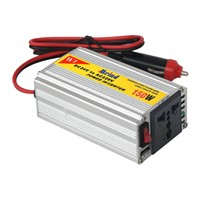 dc/ac almunium-alloy   Car power  inverter 150watt