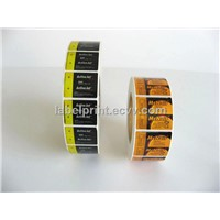 label printing for battery