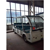 Used Tour Bus in shanghai made in china sightseeing bus best quality with safty inssuance