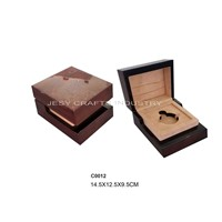 brown shiny lamination perfume box(C0012)