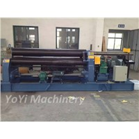 w11-40*2000 three roller heavy duty plate rolling machine