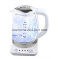 High quality glass kettle with base(Model No.: M-GK2001T)