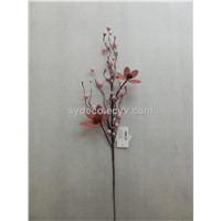 artificial flowers,flower spray, artificial flowers with eggs, flower decoration(15SG15126)