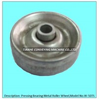 pressing metal skate wheel, pressing metal roller wheel, pressing metal track wheel