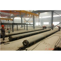 Automatic Production line for concrete pole 9-12m