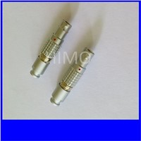 Lemo 6 pins male female connectors, electrical wire connectors