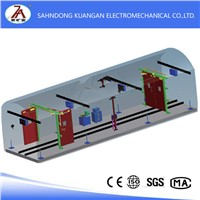 Electrical wind door