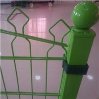 double rod fence panel