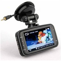 Car DVR 1080P 140 degree wide Angle 2.7inch LCD G-Sensor Vehicle Video Recorder Dash Cam